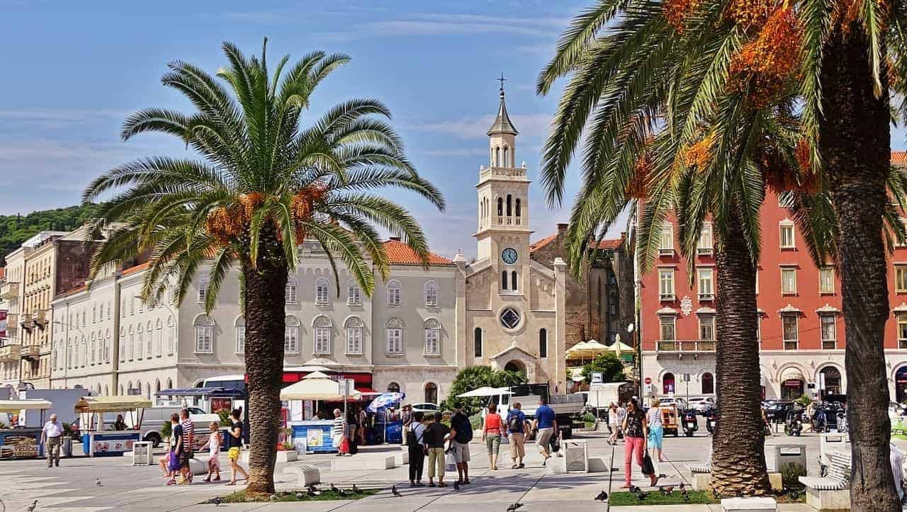 split croatia old town. what you need to know when planning a trip to Croatia