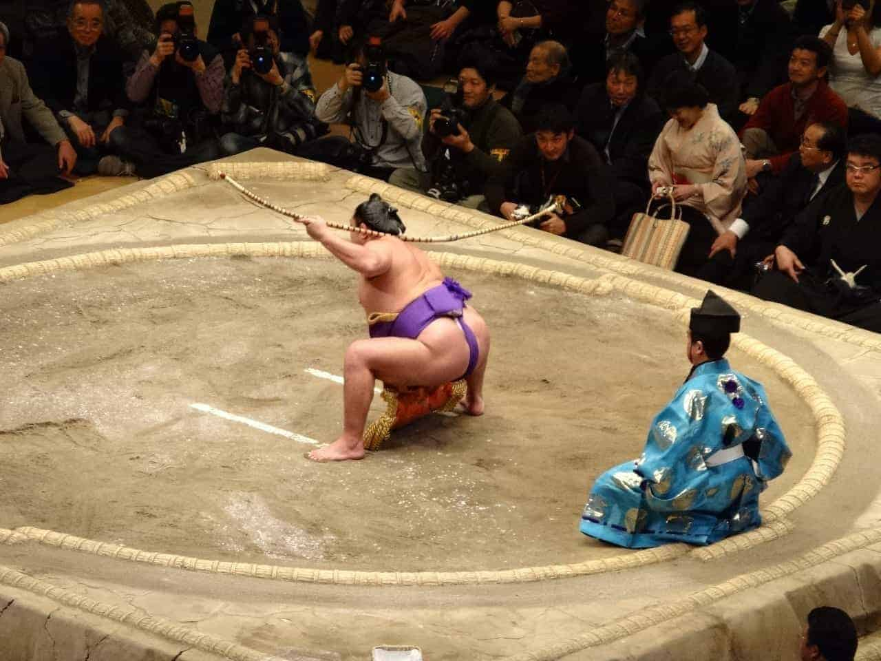 rituals of sumo tournaments are very important