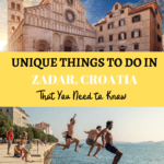 Top Things to do in Zadar Croatia
