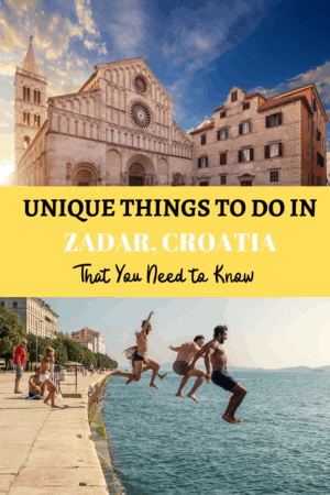 The Best Things To Do In Zadar Croatia A View Outside