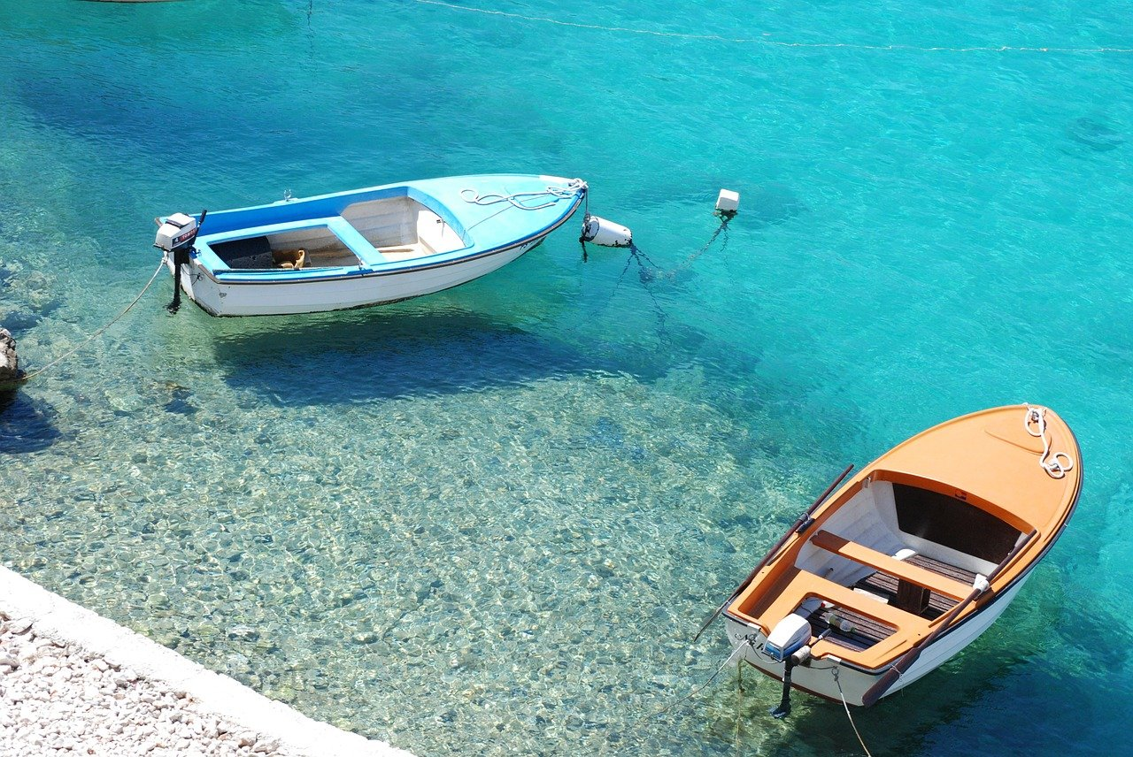 Turquoise water of Croatia