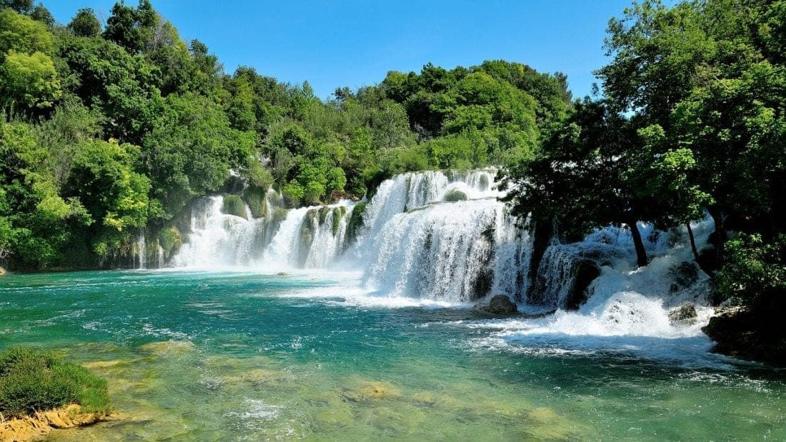 krka national park Croatia. planning a trip to Croatia