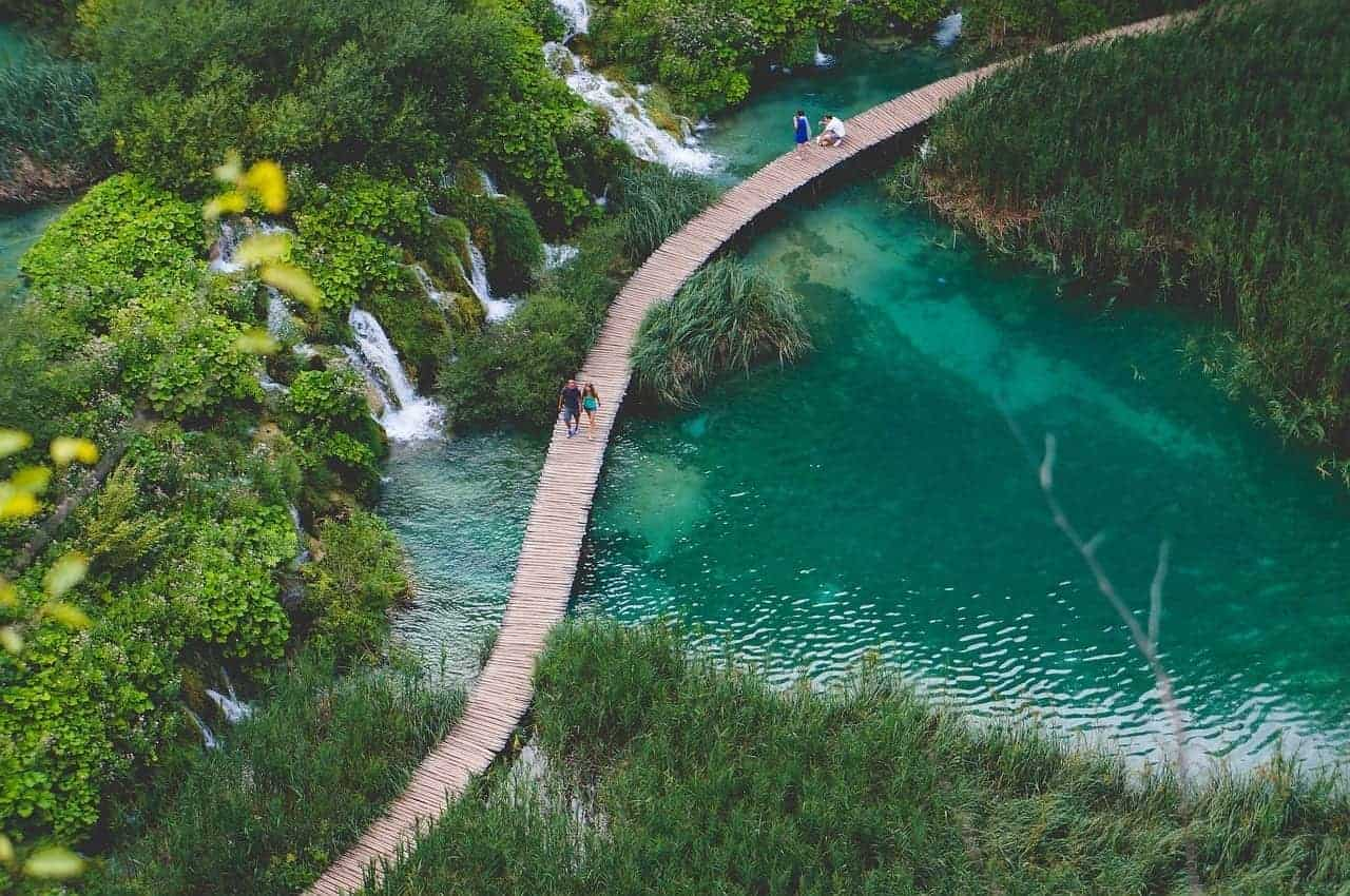 plitvice national park croatia. what you need to know when planning a trip to Croatia