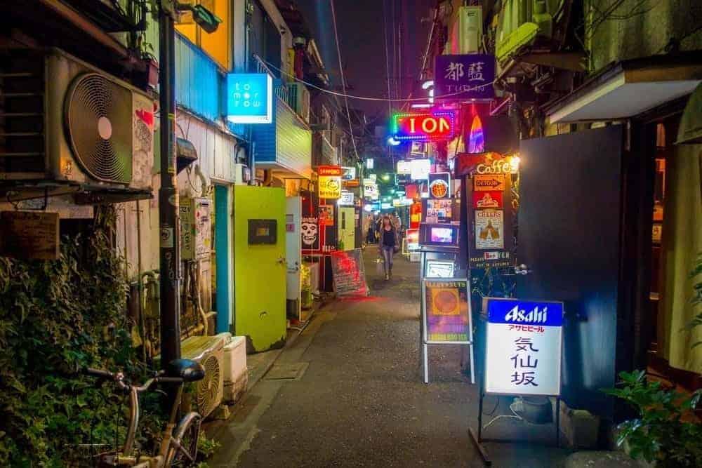 Golden Gai Shinjuku Tokyo 4 days in Tokyo itinerary