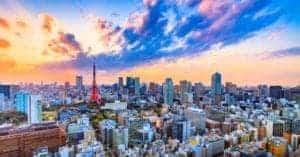 Tokyo skyline