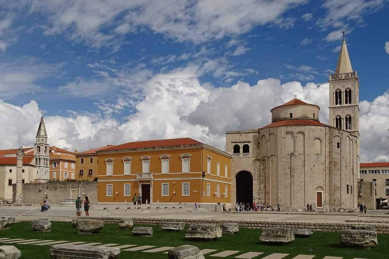 St. Donatus church Zadar Croatia