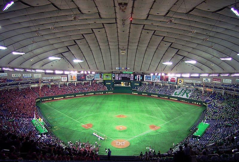tokyo dome baseball