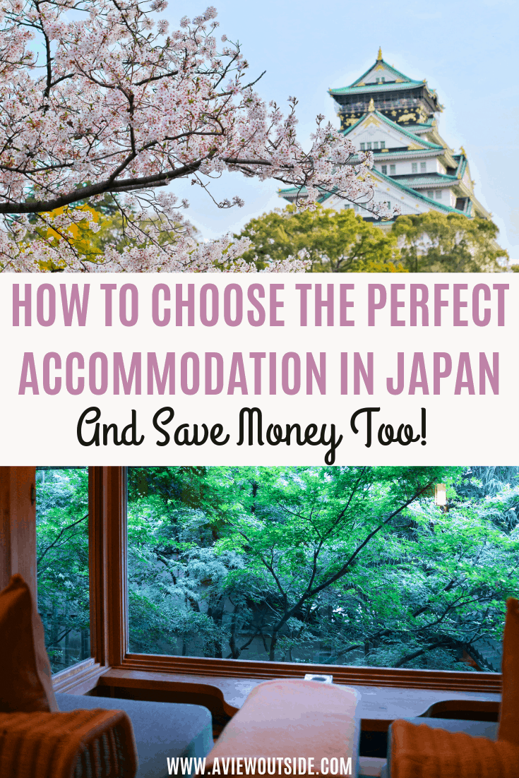 How to choose the perfect accommodation in Japan