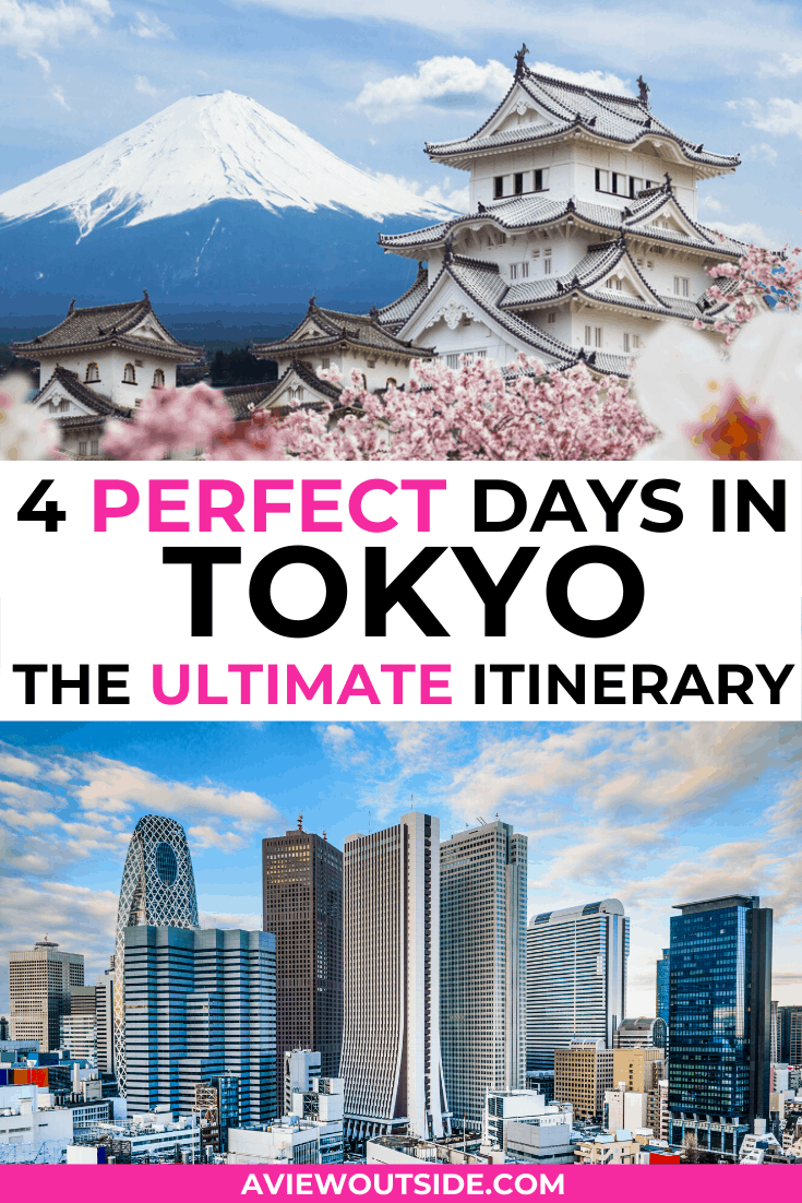 4 days in Tokyo itinerary