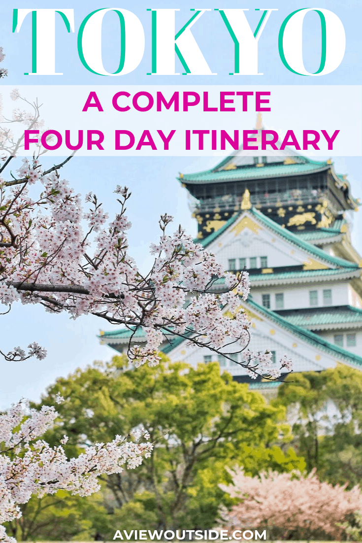 Tokyo a complete 4 day itinerary