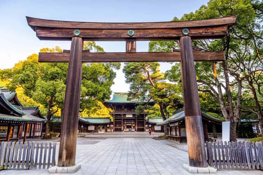 Meiji Jingu Shrine Tokyo