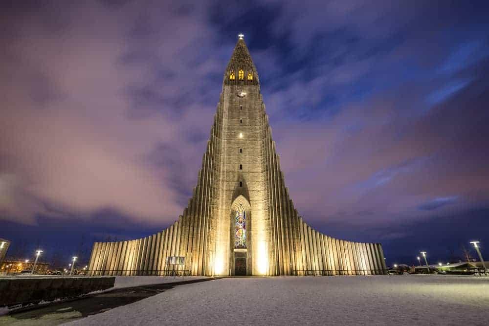 Hallgrimskirkja Church Reyjkavik