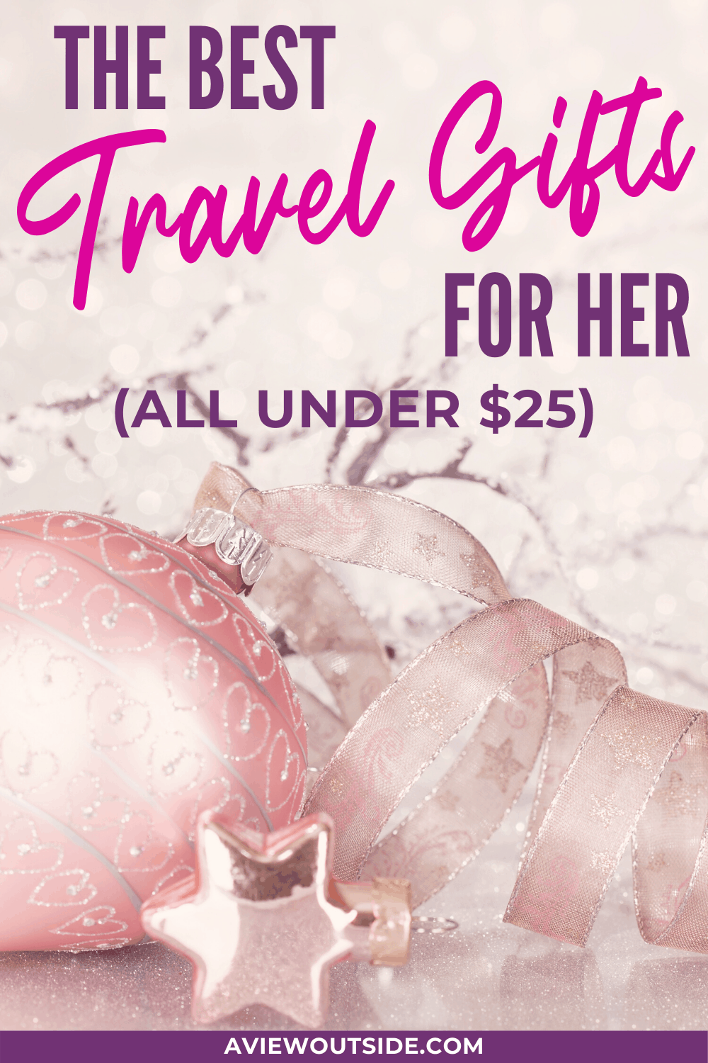 Travel gifts for her under $25