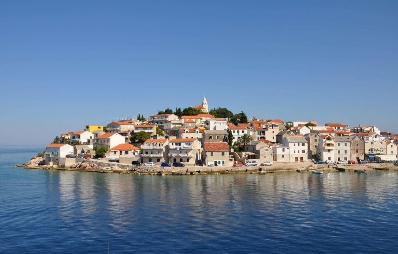 Primosten - day trips from Zadar