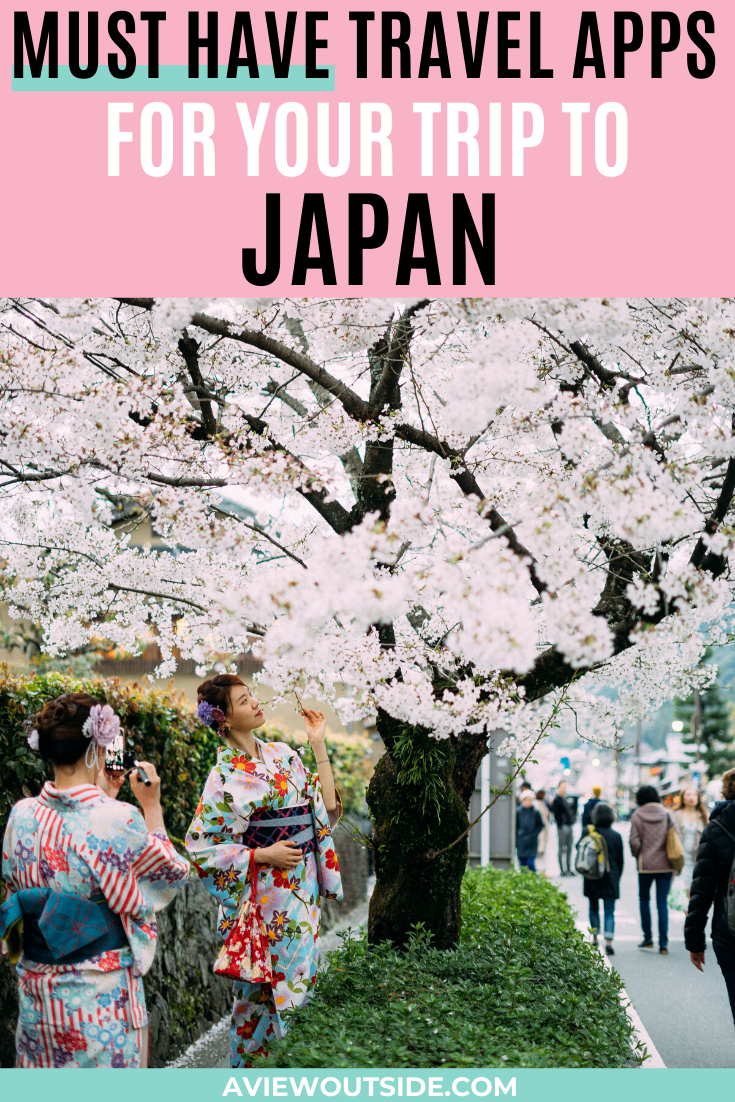 Must Have Japan Travel Apps