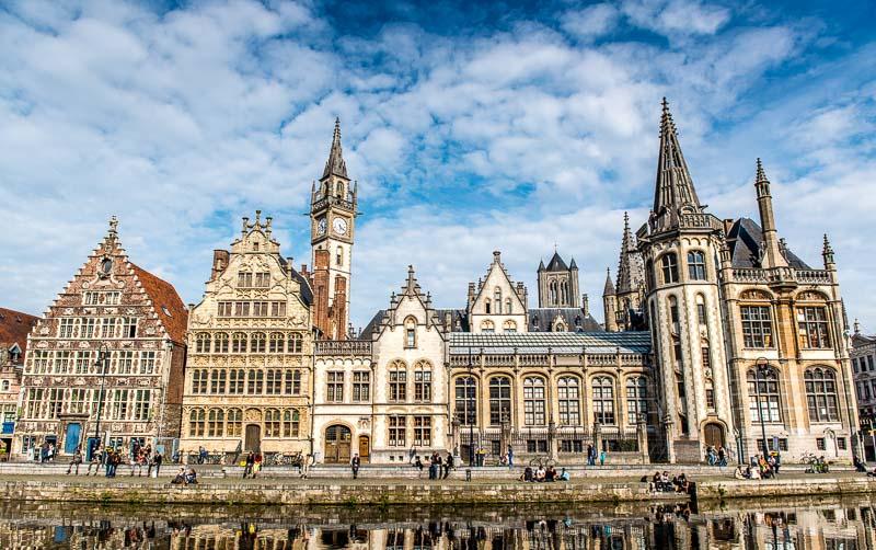 belgium ghent waterfront