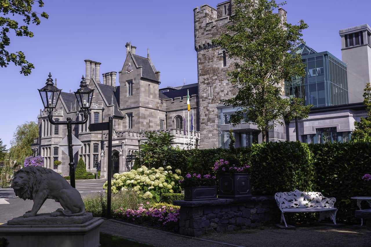 Clontarf Castle, Dublin, Ireland. Where To Stay In Dublin