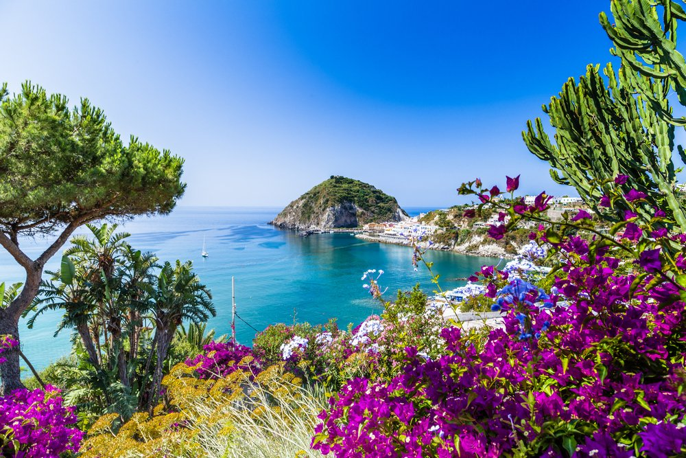 Ischia, Italy. Unique places to visit in Europe 2020