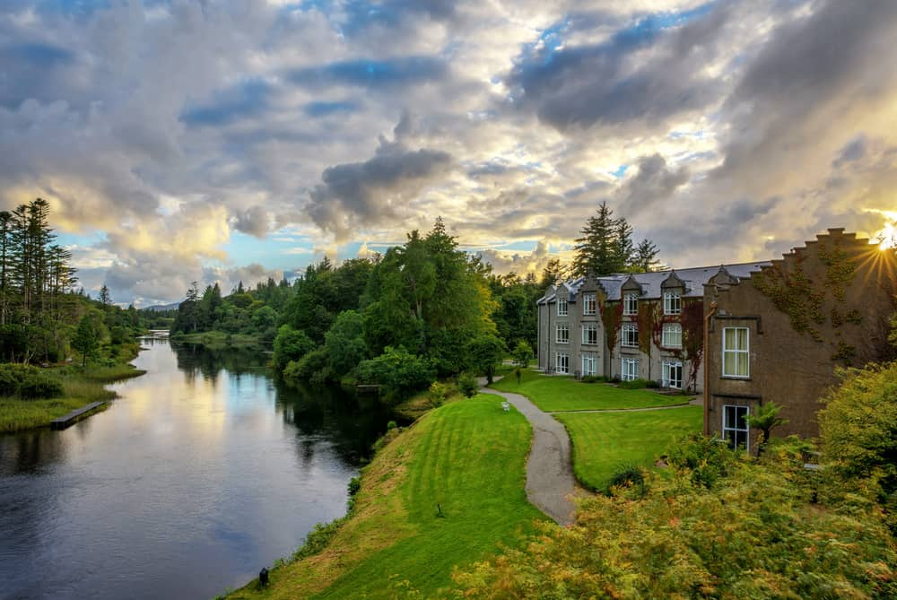 Ballynahinch Manor Hotel Connemara Galway. Castle Hotels In Ireland