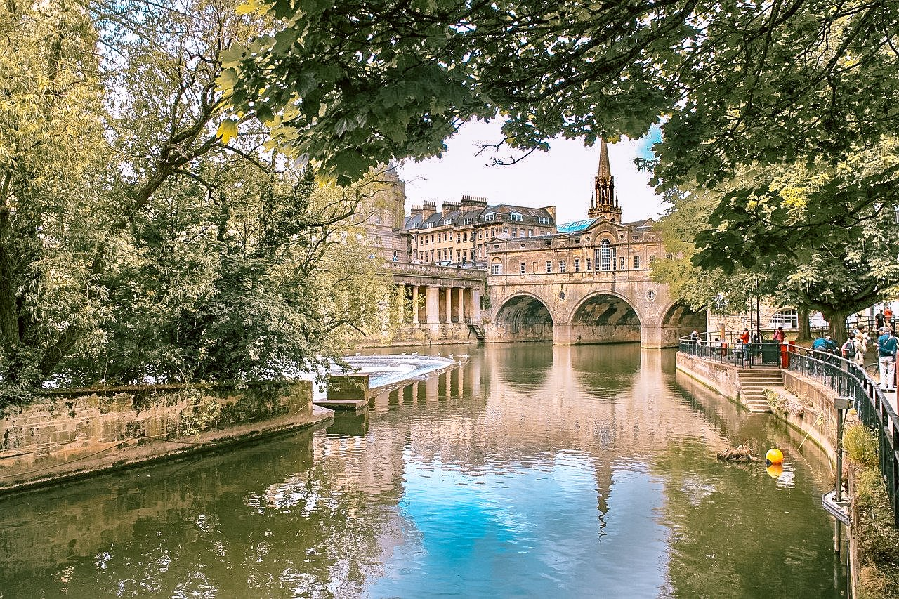 Bath, UK. Hidden gems in Europe