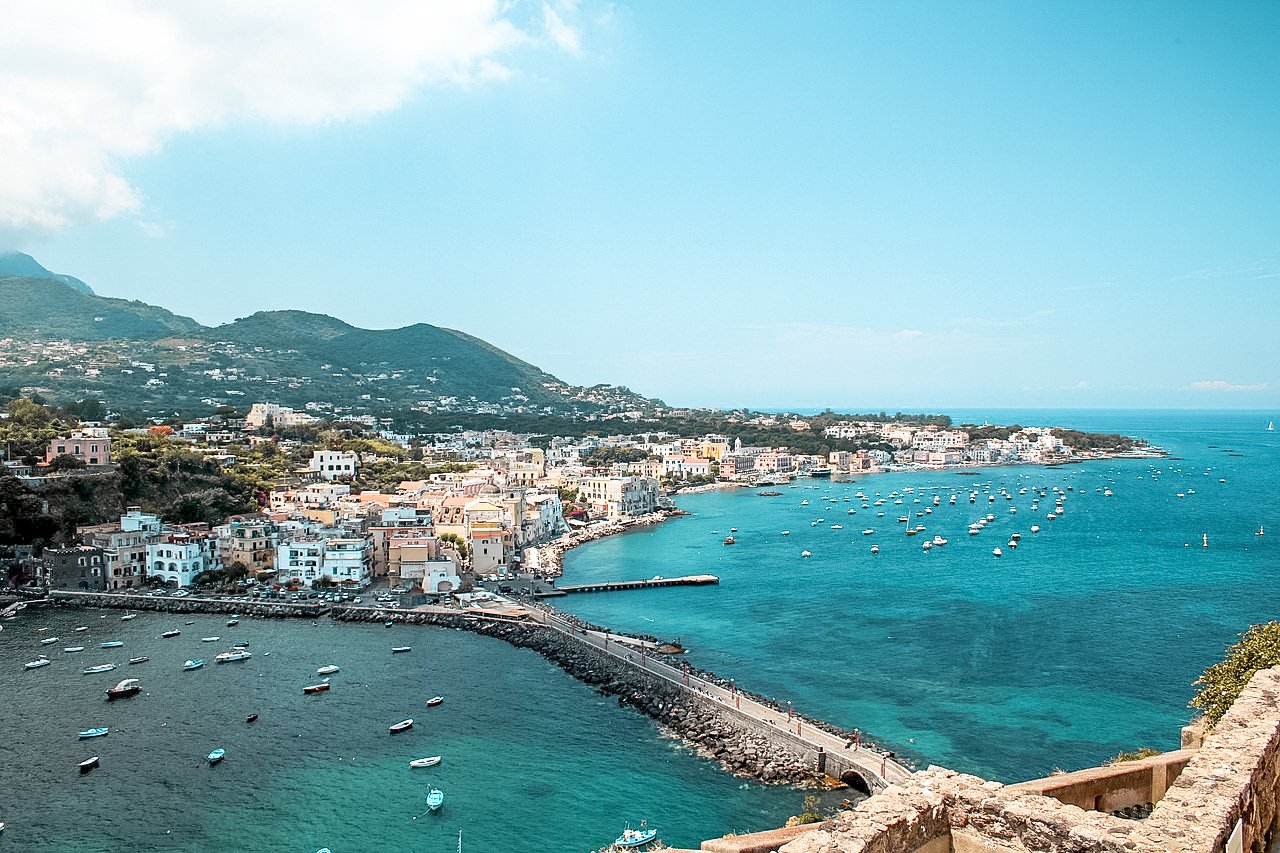 Ischia, Italy. Unique places to visit in Europe