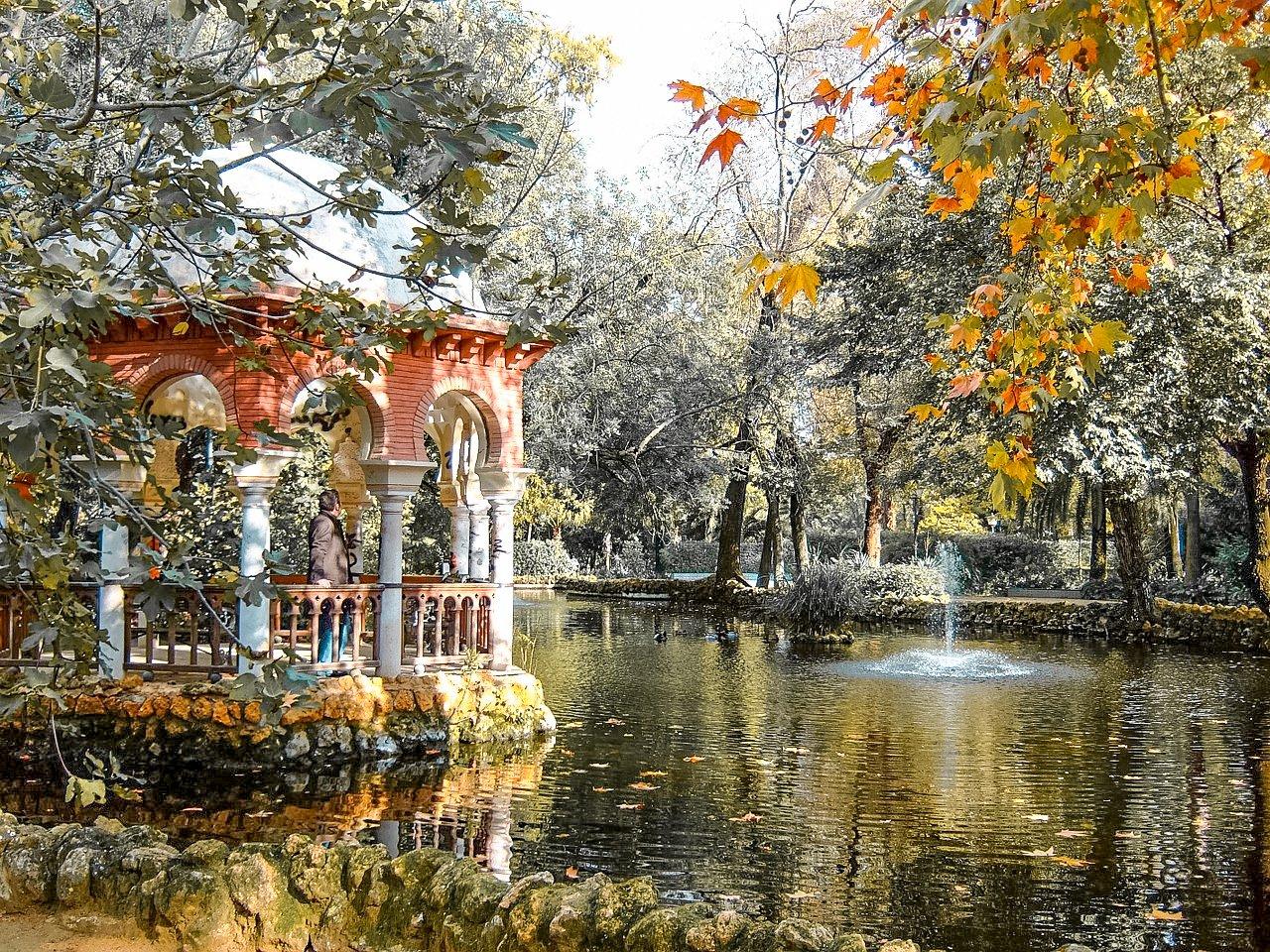 Maria Luiza Park, Seville, Spain