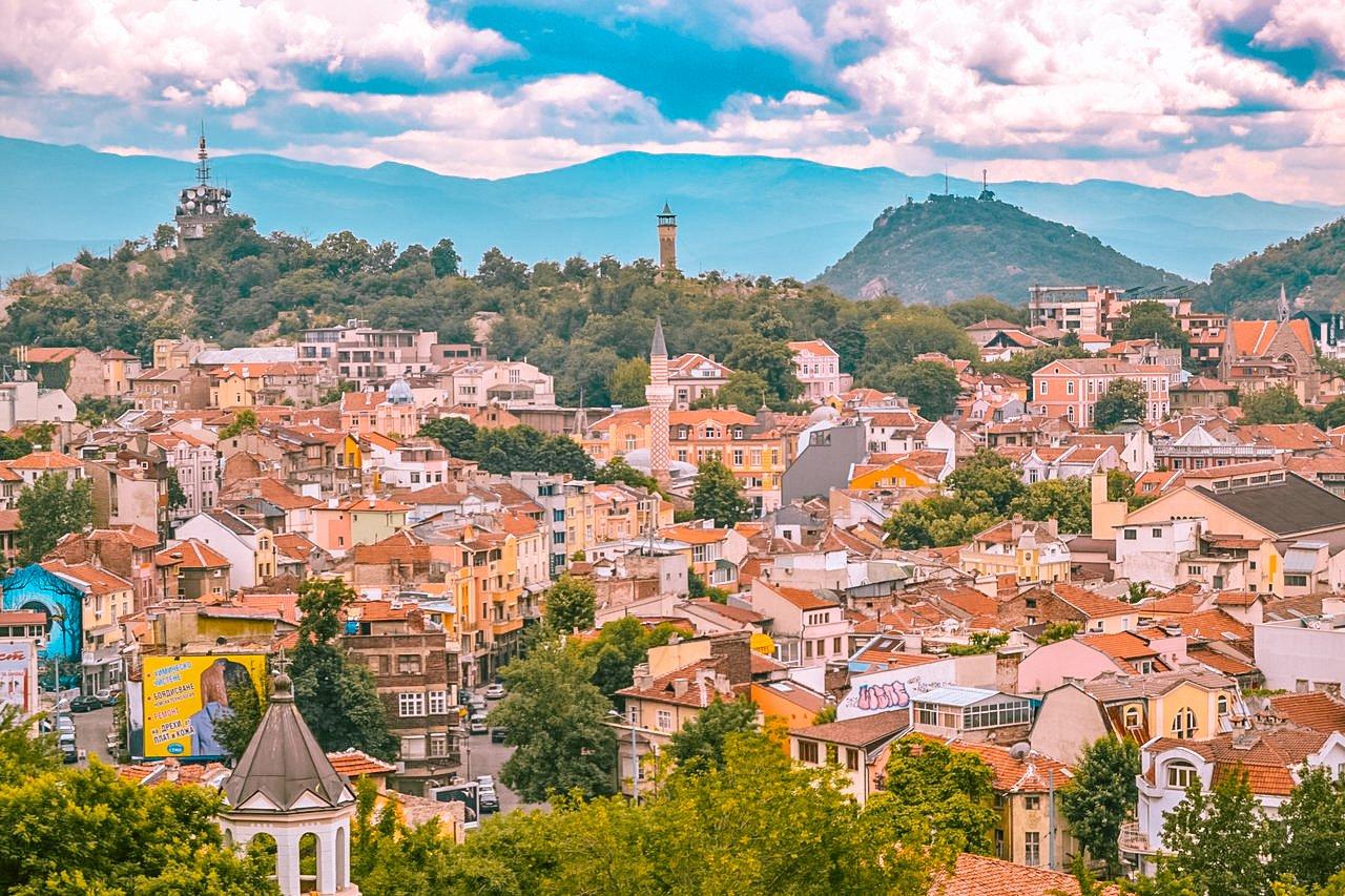 Plovdiv Town, Bulgaria